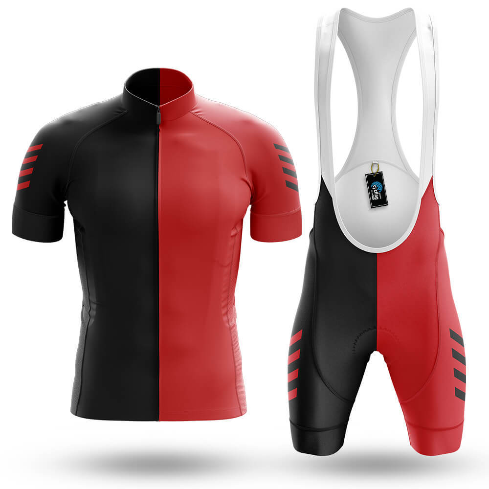 Red Black - Men's Cycling Kit - Global Cycling Gear
