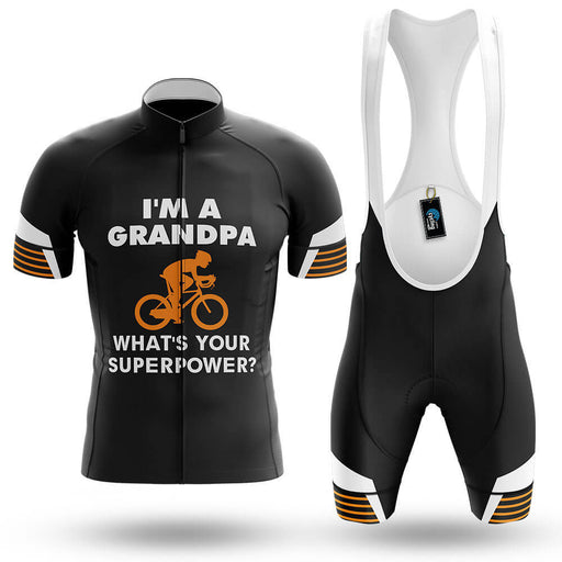 Superpower - Black - Men's Cycling Kit