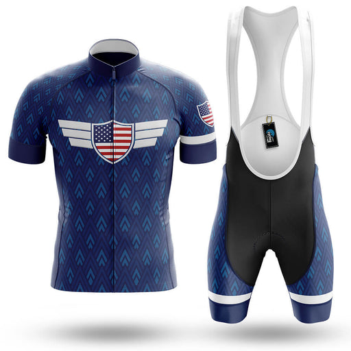 USA S6 Navy- Men's Cycling Kit