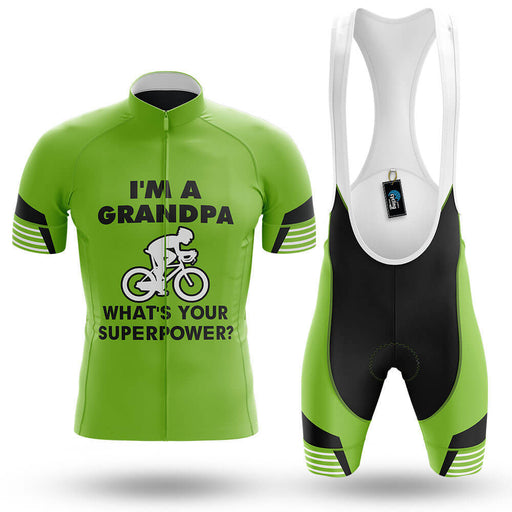 Superpower - Green - Men's Cycling Kit