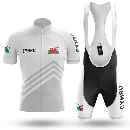 Cymru S5 White - Men's Cycling Kit - Global Cycling Gear