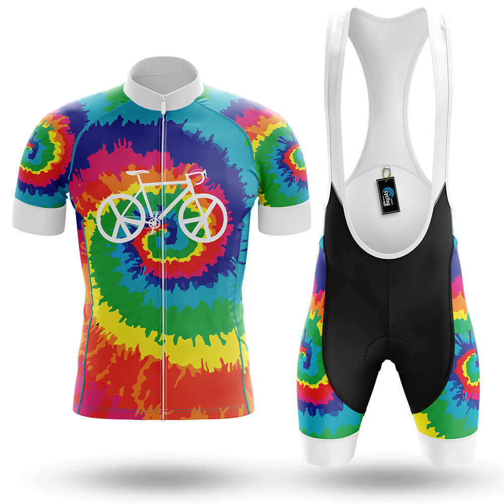 Hippie Tie Dye - Men's Cycling Kit - Global Cycling Gear