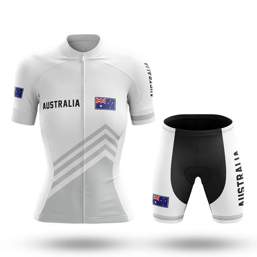 Australia S5 White - Women - Cycling Kit