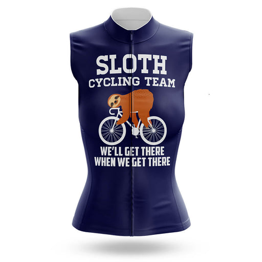 Sloth Cycling Team - Women's Sleeveless Jersey