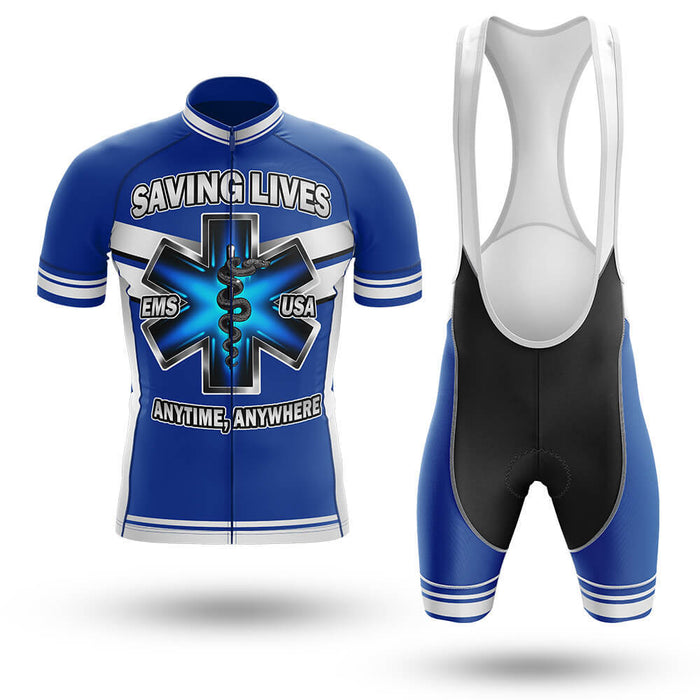 EMS - Saving Lives - Men's Cycling Kit - Global Cycling Gear