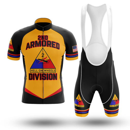 2nd Armored Division - Men's Cycling Kit - Global Cycling Gear