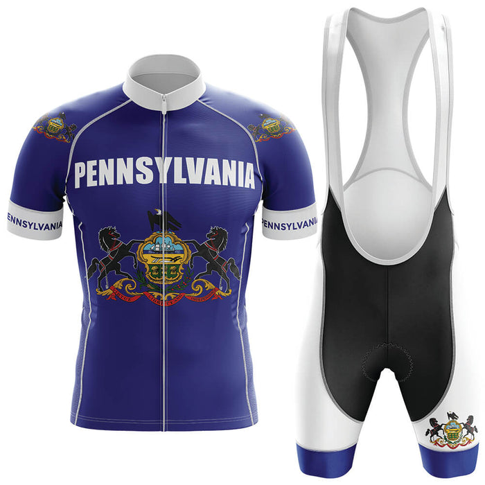 Pennsylvania Men's Cycling Kit - Global Cycling Gear