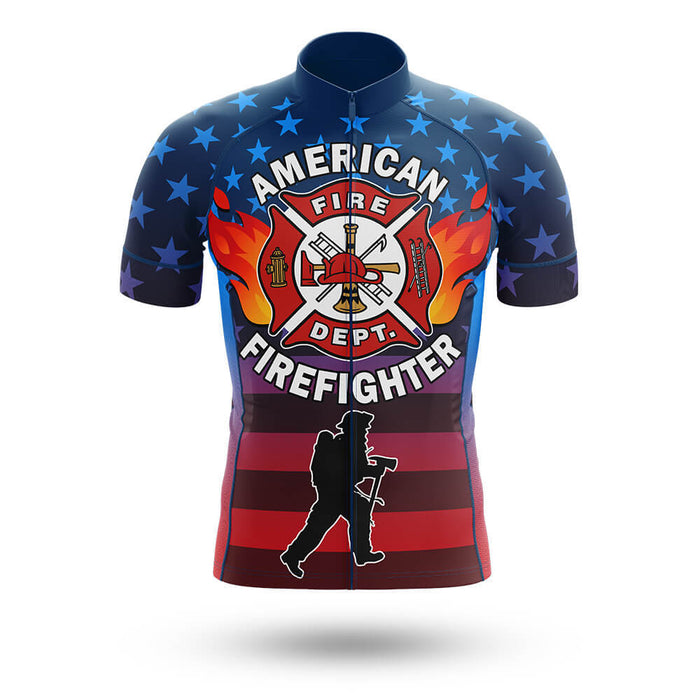 American Firefighter - Men's Cycling Kit - Global Cycling Gear