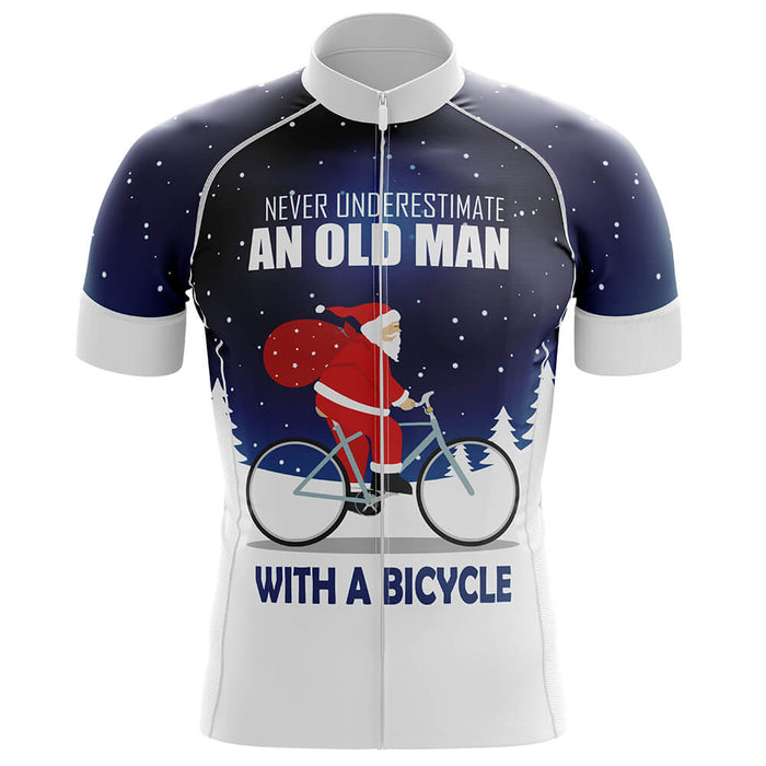 Christmas Old Man Men's Cycling Kit - Global Cycling Gear