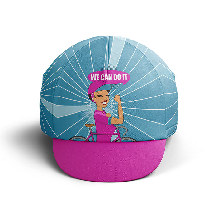 We Can Do It Cycling Cap V2 - Global Cycling Gear