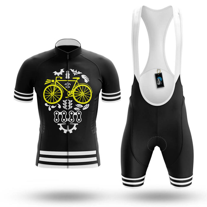 Cycling Parts Skull - Men's Cycling Kit