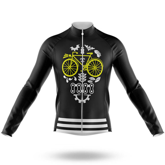 Cycling Parts Skull - Men's Cycling Kit - Global Cycling Gear