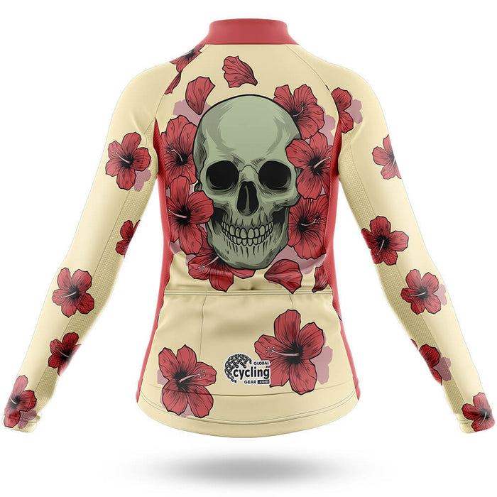 Flower Skull - Women - Cycling Kit