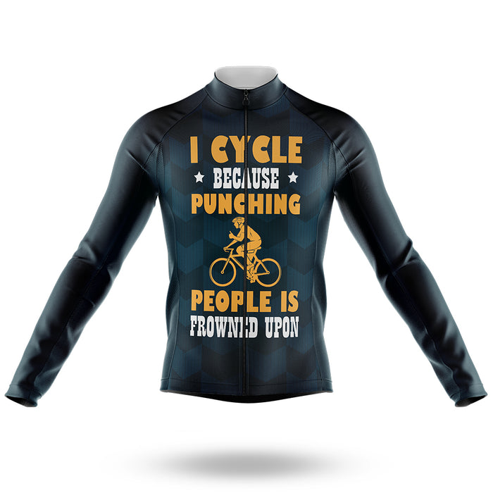 Frowned Upon - Men's Cycling Kit