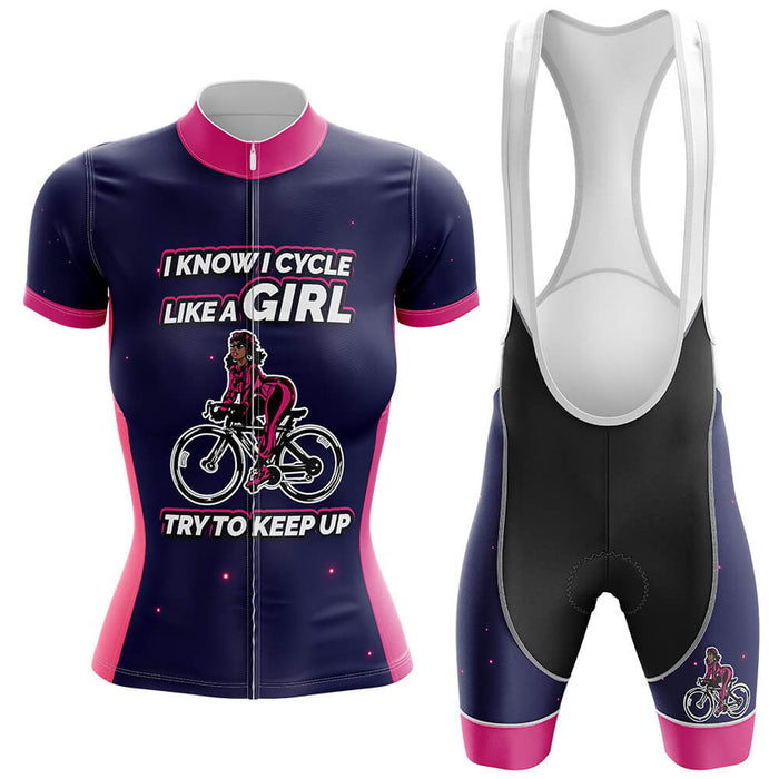 Girl Cycling Kit - Global Cycling Gear