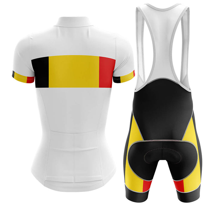 Belgium - Women V4 - Cycling Kit - Global Cycling Gear