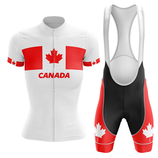 Canada - Women V4 - Cycling Kit - Global Cycling Gear