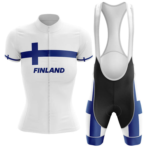 Finland - Women V4 - Cycling Kit - Global Cycling Gear