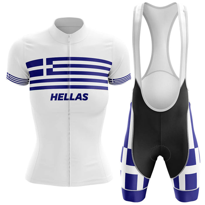 Hellas - Women V4 - Cycling Kit - Global Cycling Gear