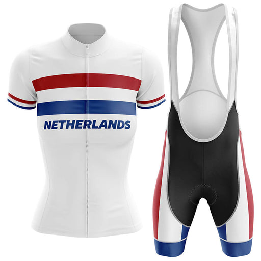Netherlands - Women V4 - Cycling Kit - Global Cycling Gear