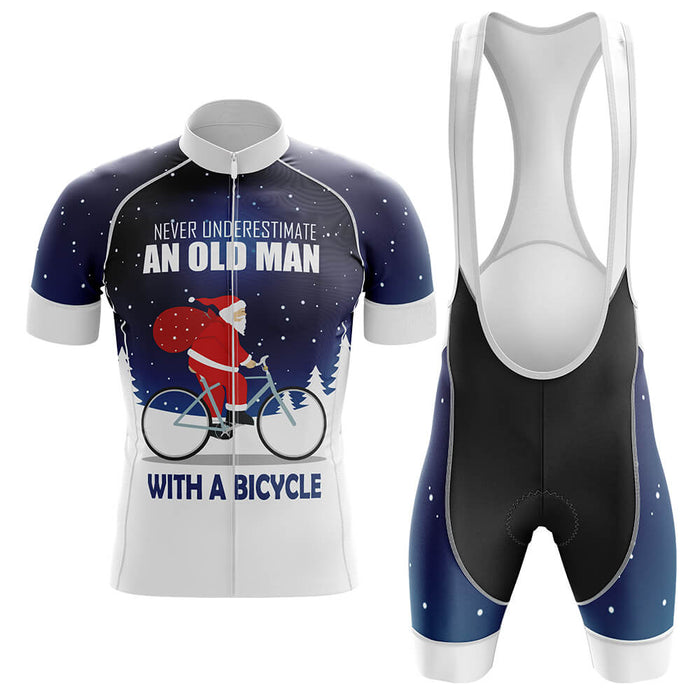 Christmas Old Man Cycling Kit - Global Cycling Gear