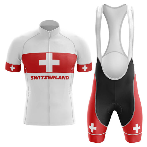 Switzerland V4 - Men's Cycling Kit - Global Cycling Gear