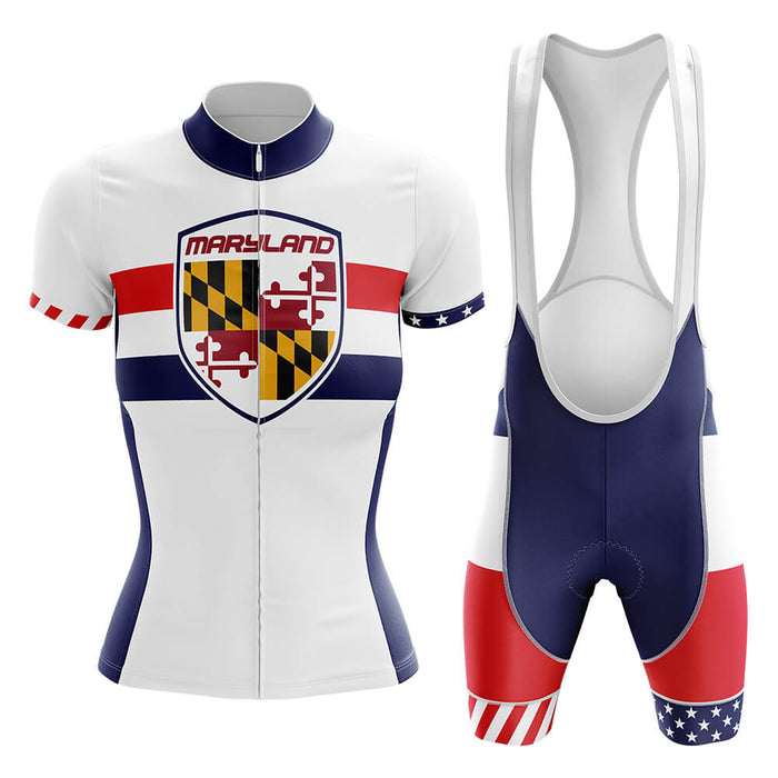 Maryland - Women V5 - Cycling Kit - Global Cycling Gear