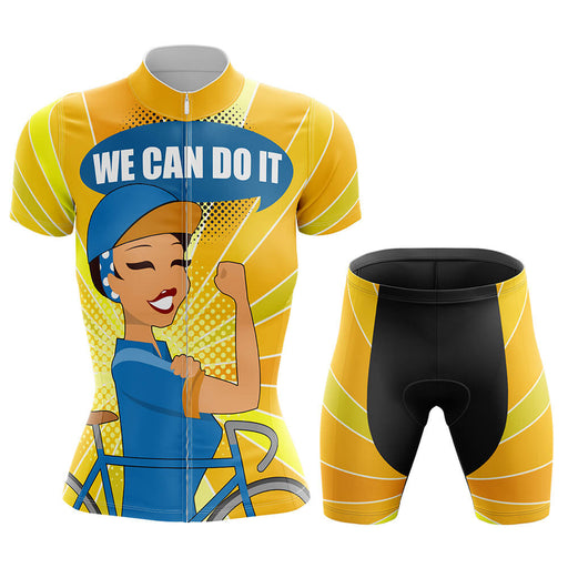 We Can Do It - Cycling Kit - Global Cycling Gear
