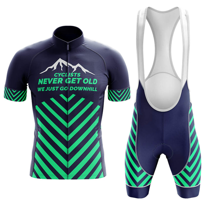 Never Get Old Men's Cycling Kit - Global Cycling Gear