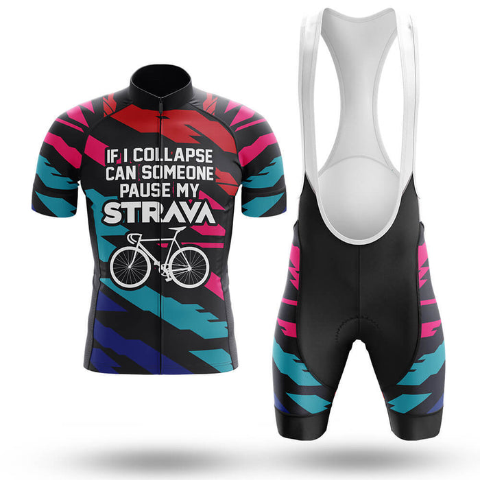 Pause My Strava - Men's Cycling Kit - Global Cycling Gear