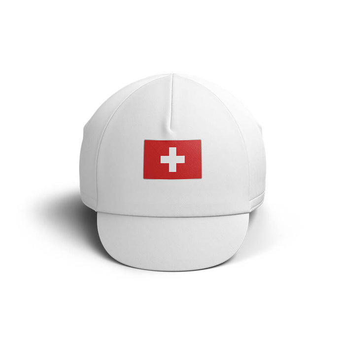 Switzerland Cycling Cap V4 - Global Cycling Gear