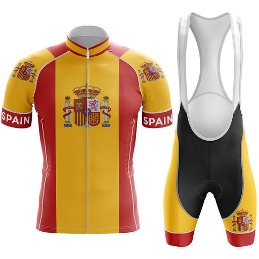 Spain Men's Cycling Kit - Global Cycling Gear
