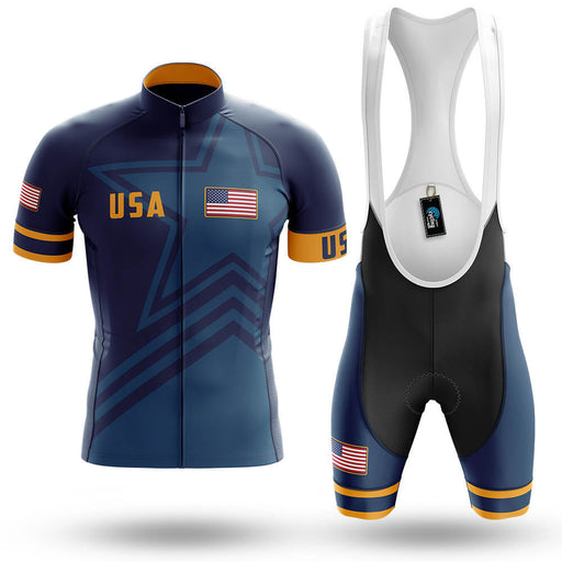 USA S5 Navy - Men's Cycling Kit