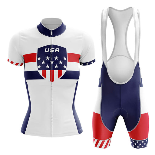 USA - Women V5 - Cycling Kit - Global Cycling Gear