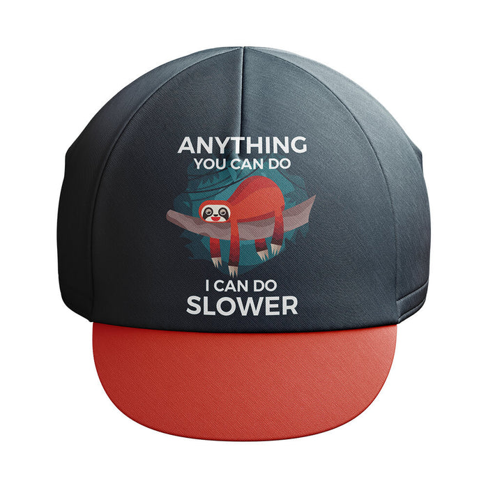 Sloth Can Do Slower Cycling Cap - Global Cycling Gear