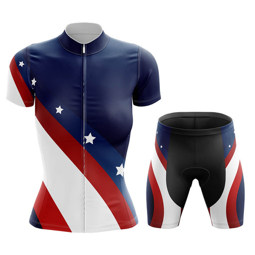 USA - Women V3 - Cycling Kit - Global Cycling Gear
