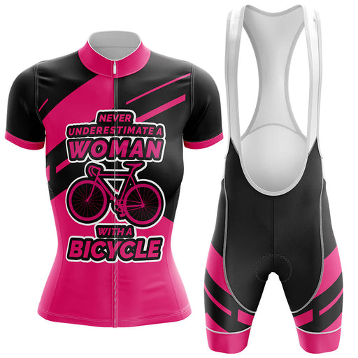 Woman Cycling Kit V3 - Global Cycling Gear