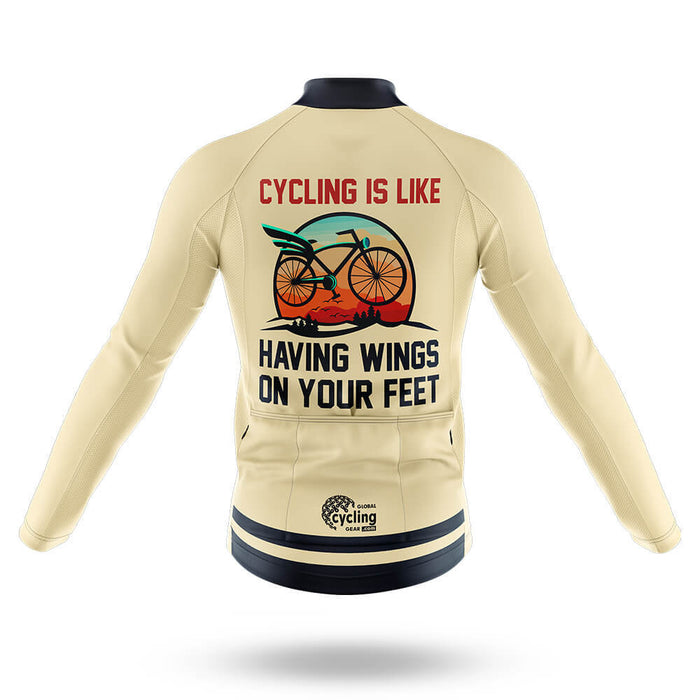 Wings On Feet - Men's Cycling Kit