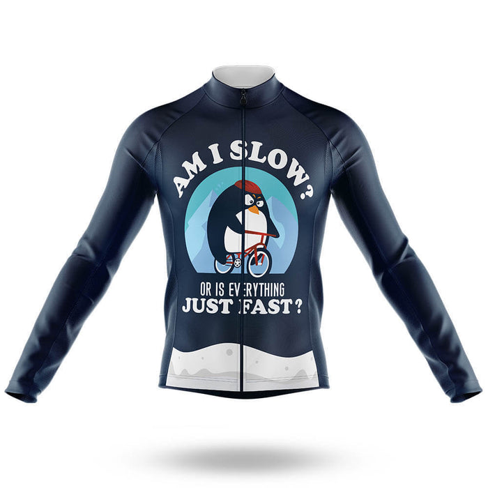 Am I Slow V2 - Men's Cycling Kit
