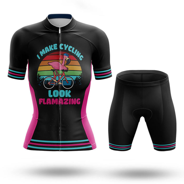 I Make Cycling Look Flamazing - Cycling Kit - Global Cycling Gear