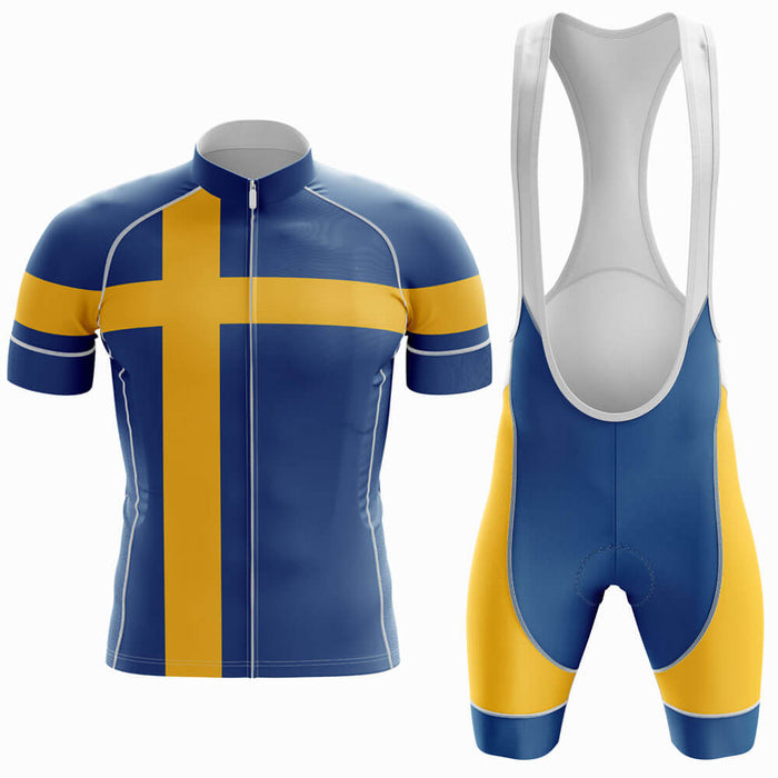 Sweden Men's Cycling Kit - Global Cycling Gear