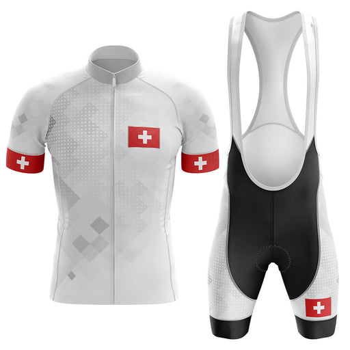 Switzerland V2 - Men's Cycling Kit - Global Cycling Gear