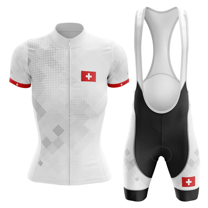 Switzerland - Women - Cycling Kit - Global Cycling Gear