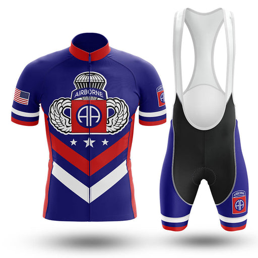 82nd Airborne Veteran - Men's Cycling Kit - Global Cycling Gear