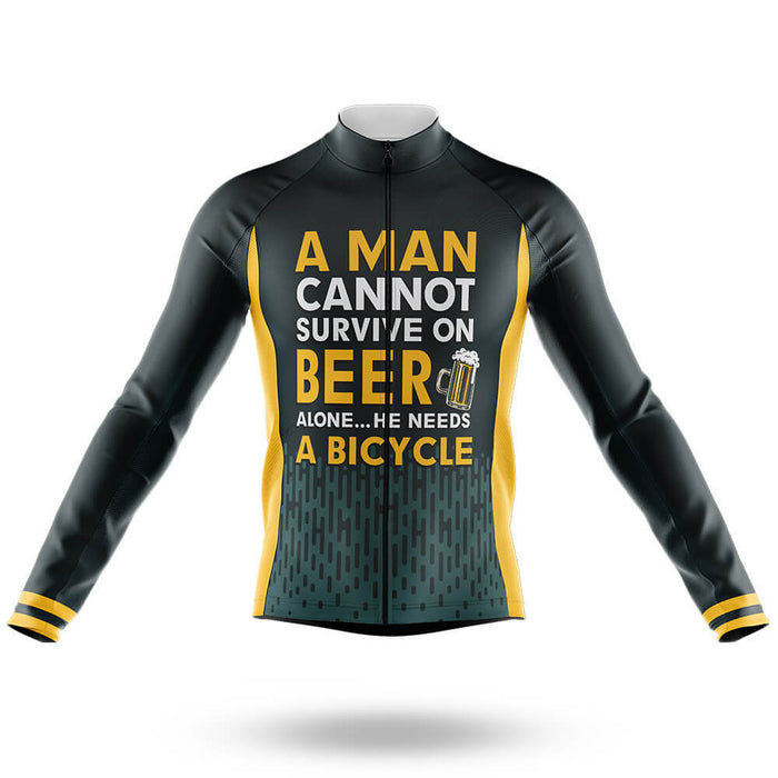 Beer & Bicycle - Men's Cycling Kit - Global Cycling Gear