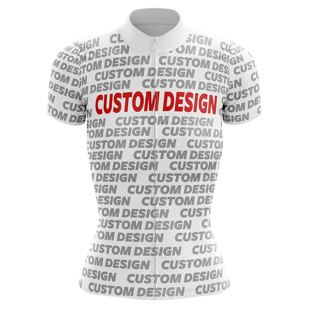 Custom Design - Women Cycling Jersey - Global Cycling Gear