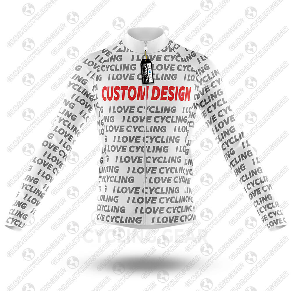 Custom Design - Long Sleeve Jersey - Global Cycling Gear
