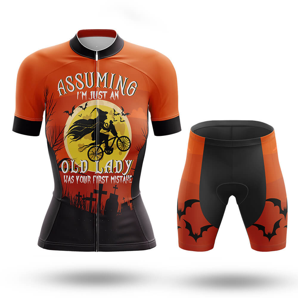 Halloween Lady - Cycling Kit - Global Cycling Gear
