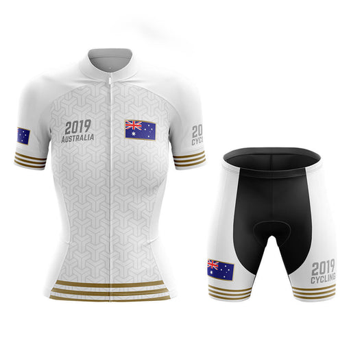 Australia - Women 2019 - Cycling Kit - Global Cycling Gear