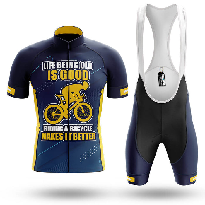 Life Being Old Is Good - Men's Cycling Kit - Global Cycling Gear